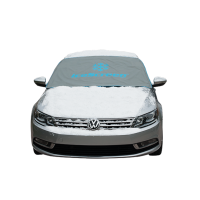 Classic Magnetic Windscreen Frost Cover - GREY